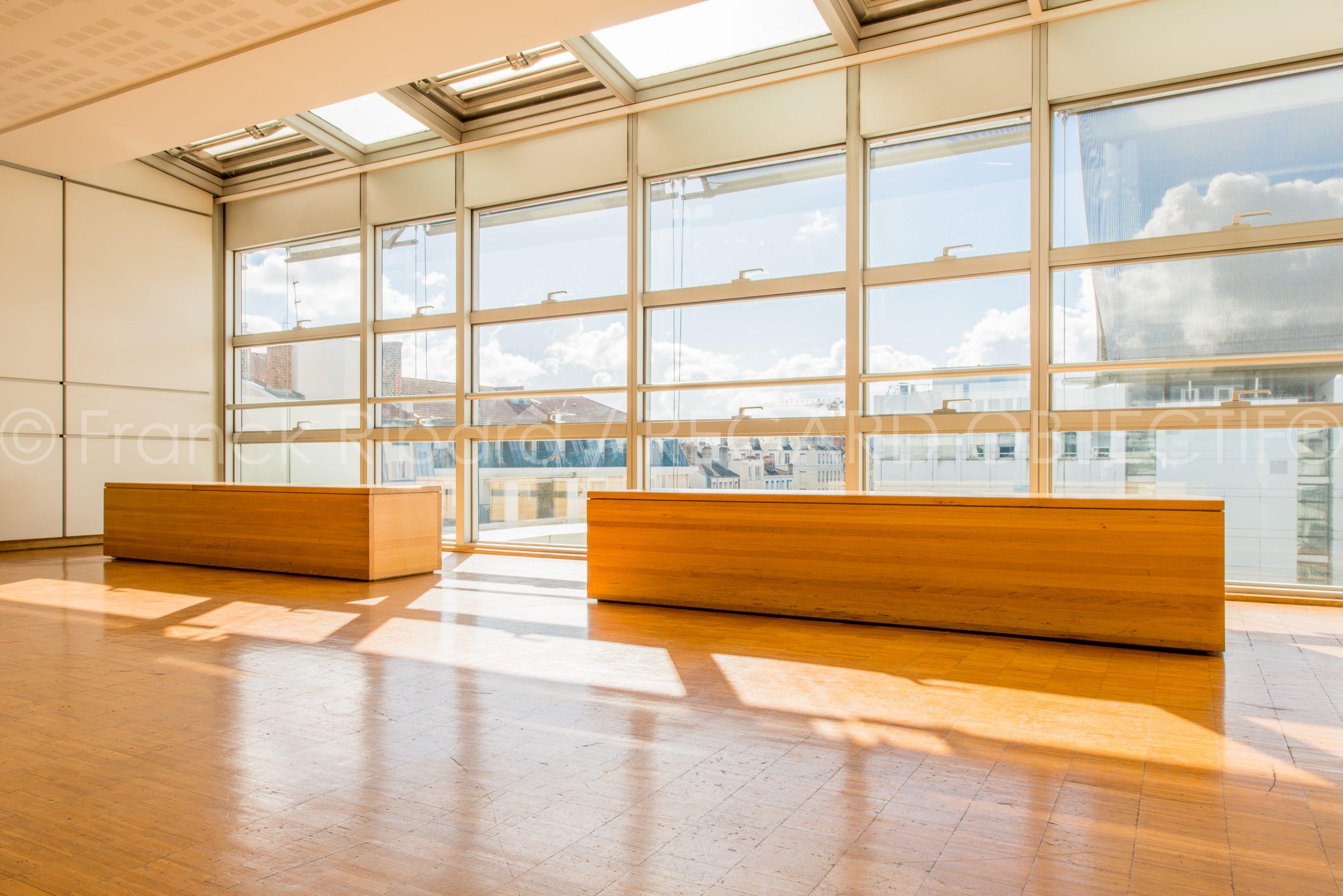 photographie de franck ribard - regard objectif - photographe architecture lyon - Université Lyon 3