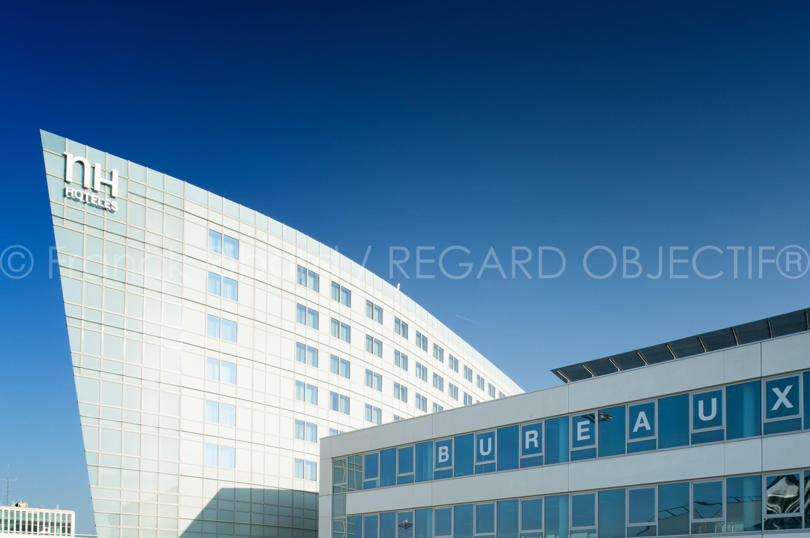 photographie de franck ribard - regard objectif - photographe architecture lyon - NH Hotel