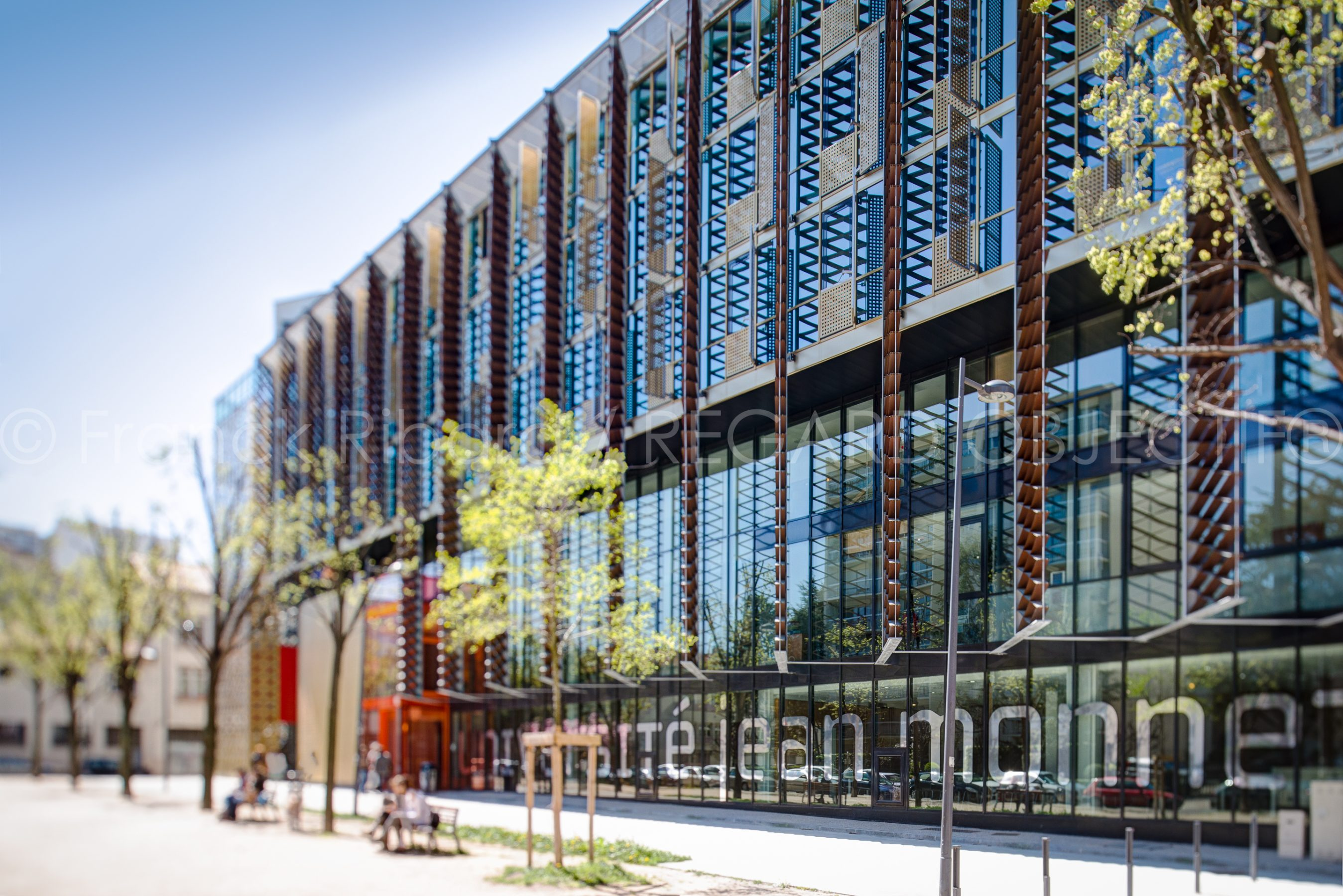 photographie de franck ribard - regard objectif - photographe architecture lyon - Université Jean Moulin - St Etienne