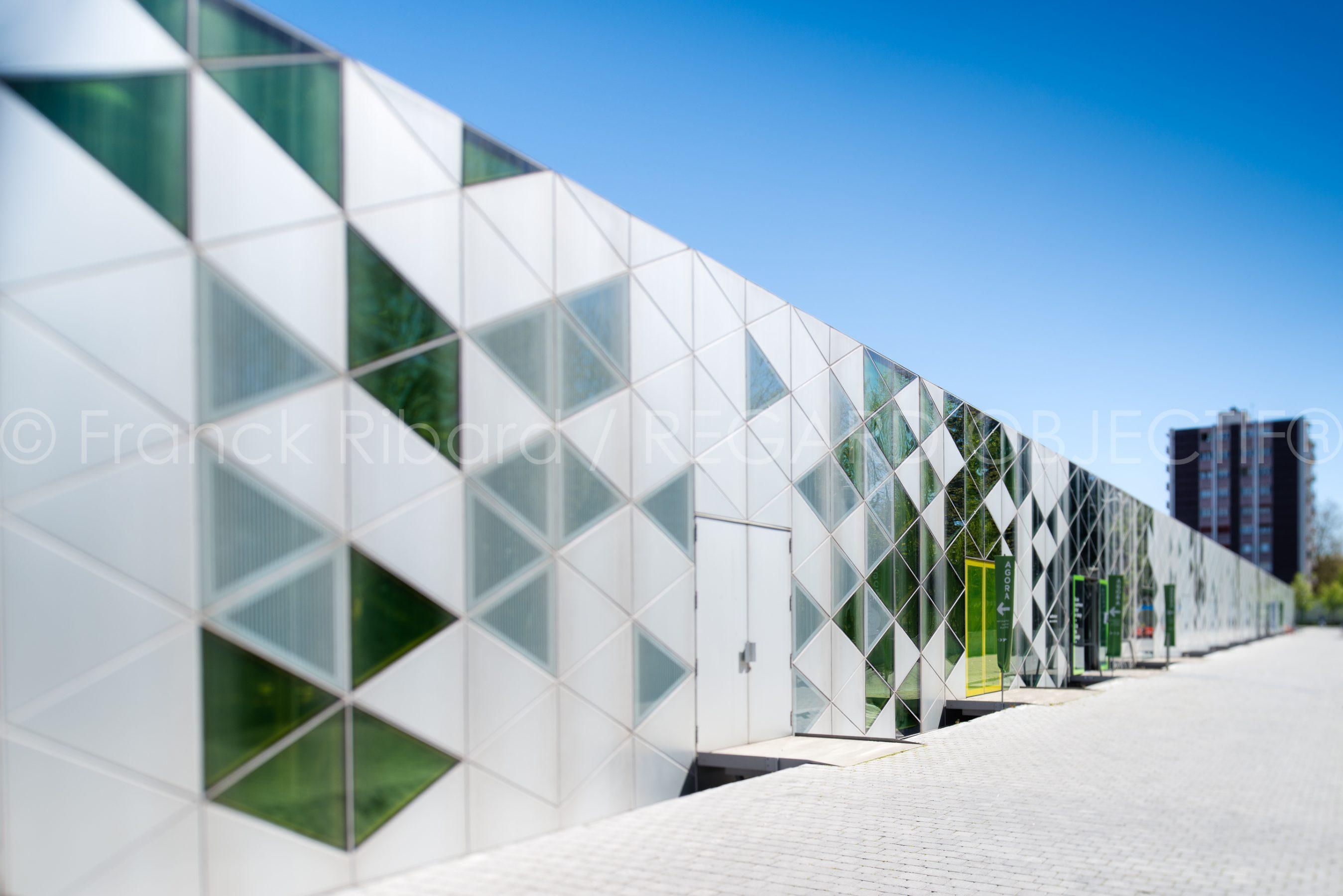 photographie de franck ribard - regard objectif - photographe architecture lyon - la cite du design Saint Etienne