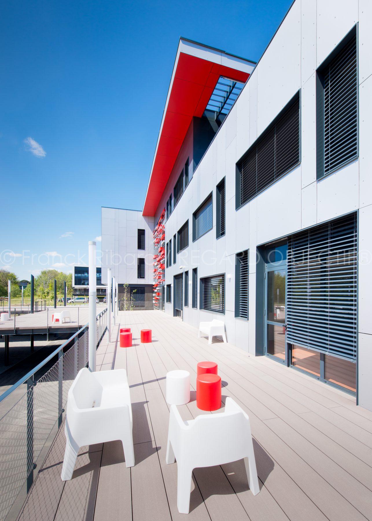 photographie de franck ribard - regard objectif - photographe architecture lyon - Carl Software