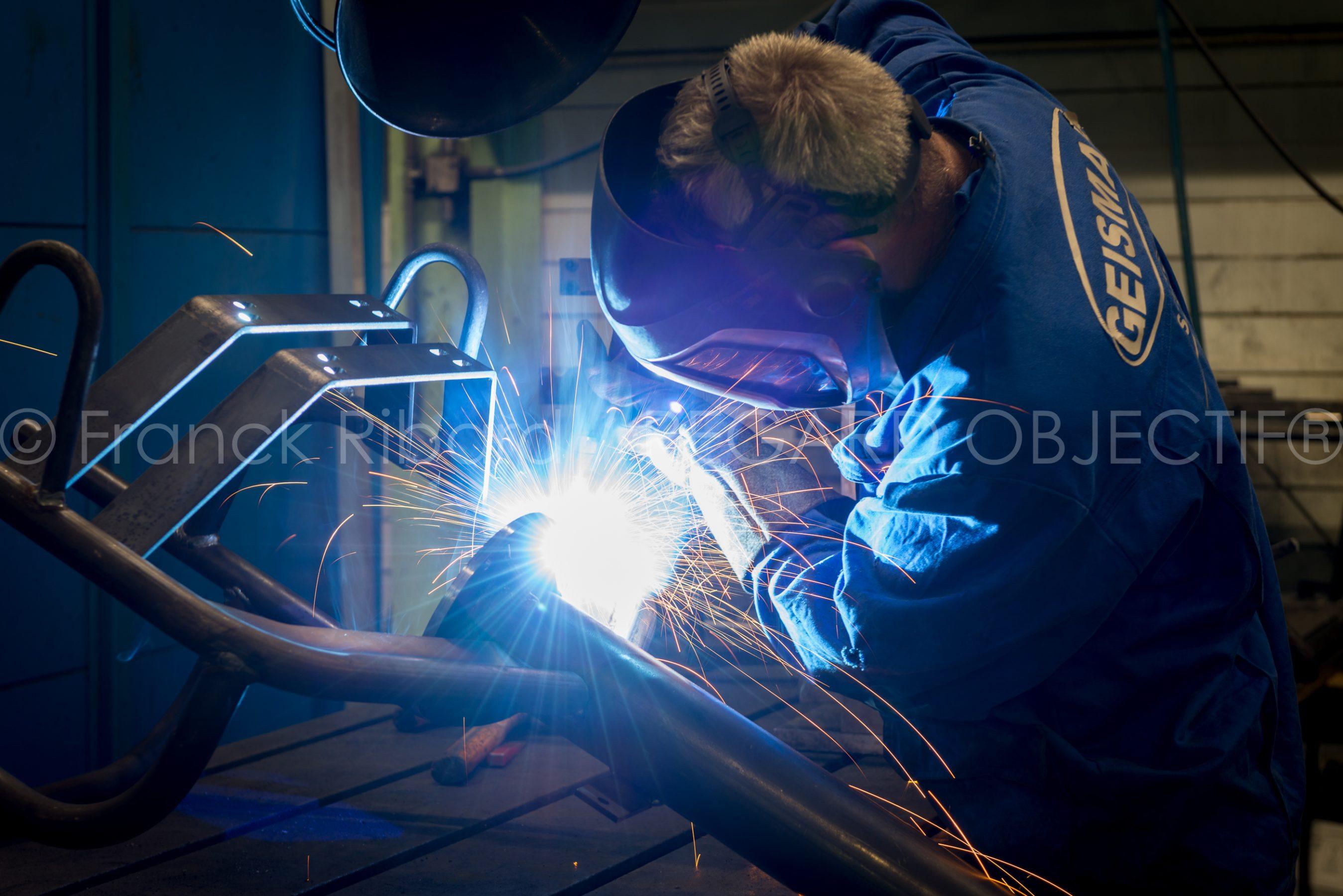 photographie de Franck Ribard - regard objectif - photographe industriel Lyon - Geismar